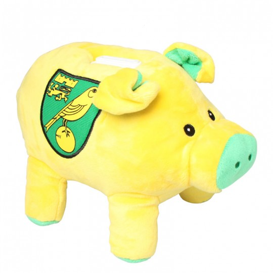 Plush Pig Money Box
