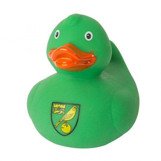 Green Bath Duck