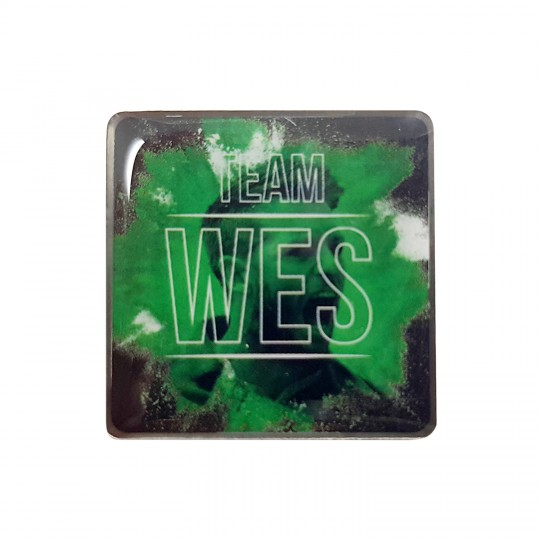 Team Wes Pin Badge