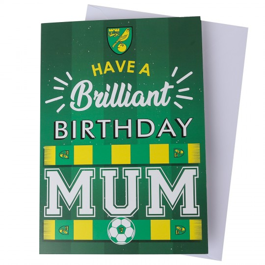 Brilliant Birthday Card - Mum