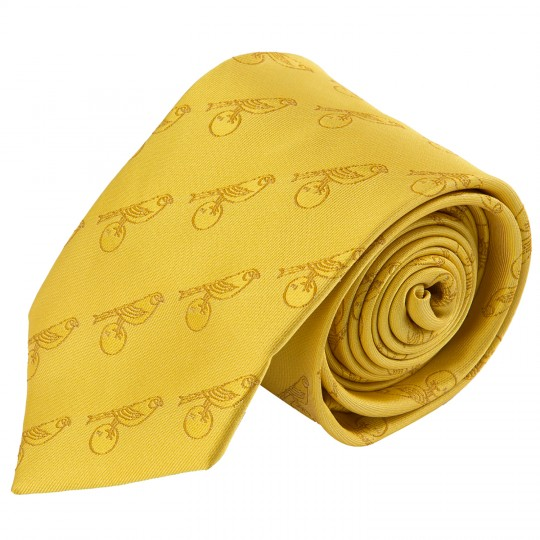 Yellow Repeated Canary Tie
