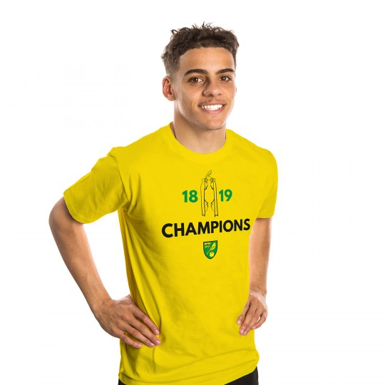 Champions T-Shirt Yellow