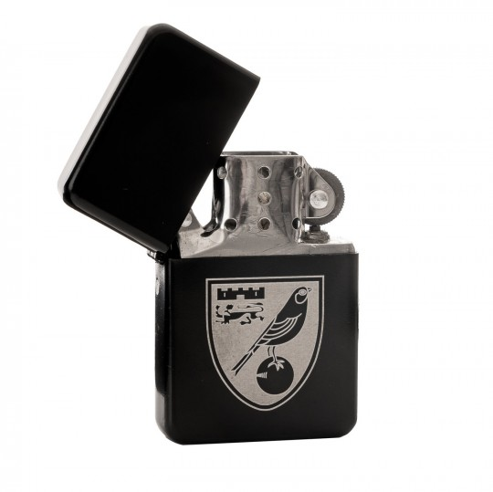 Black Engraved Lighter