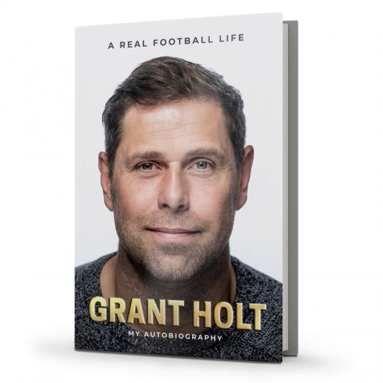 SIGNED COPY Grant Holt Autobiography