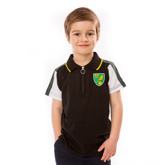 Kids Short Sleeve 1/4 Zip Polo