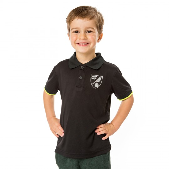 Kids Black Polo