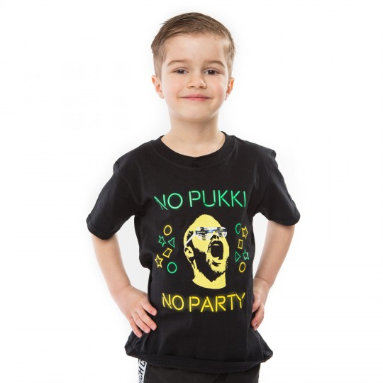 Kids No Pukki No Party NCFC/Finland T-Shirt