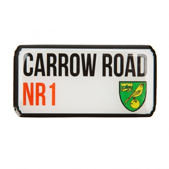 Carrow Road Magnet