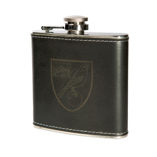Embossed Hip Flask