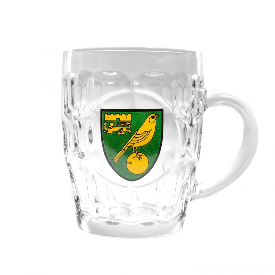 Glass Dimple Tankard