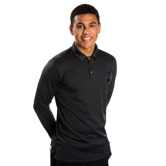Mens Michele Long Sleeve Polo