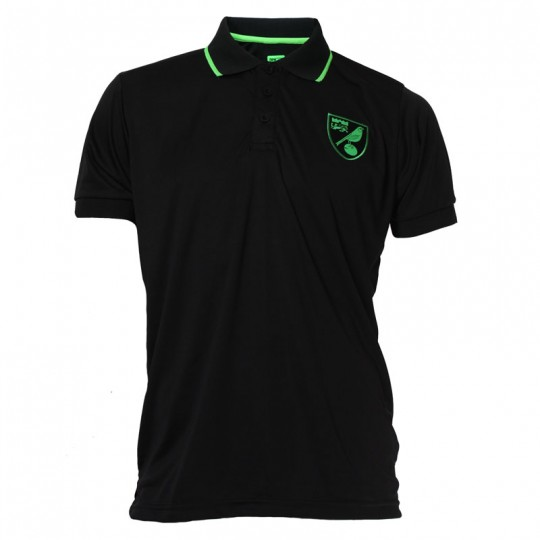 Child Crest Polo Shirt Black