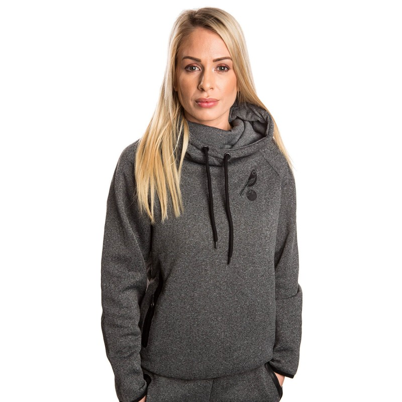Ladies Cowl Neck Hoody