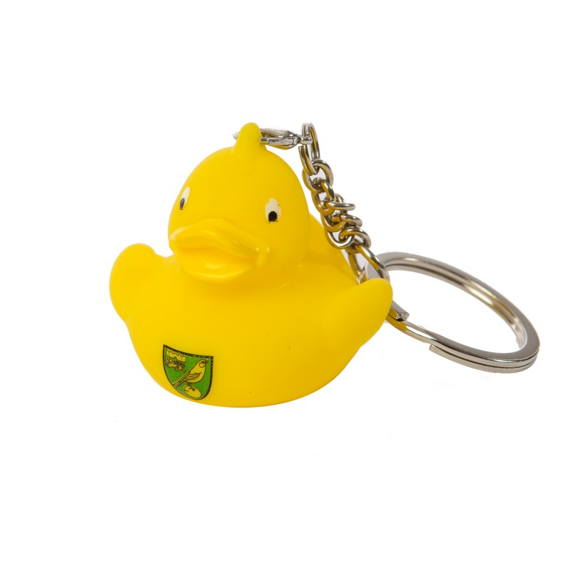 Yellow Rubber Duck Keyring
