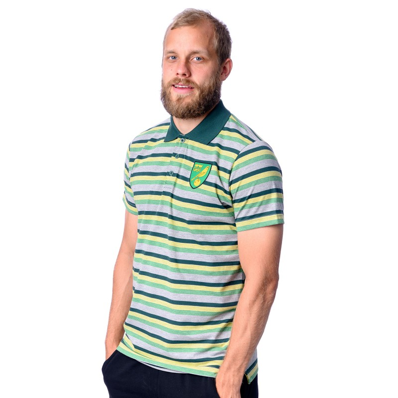 Adult Marl Stripe Polo