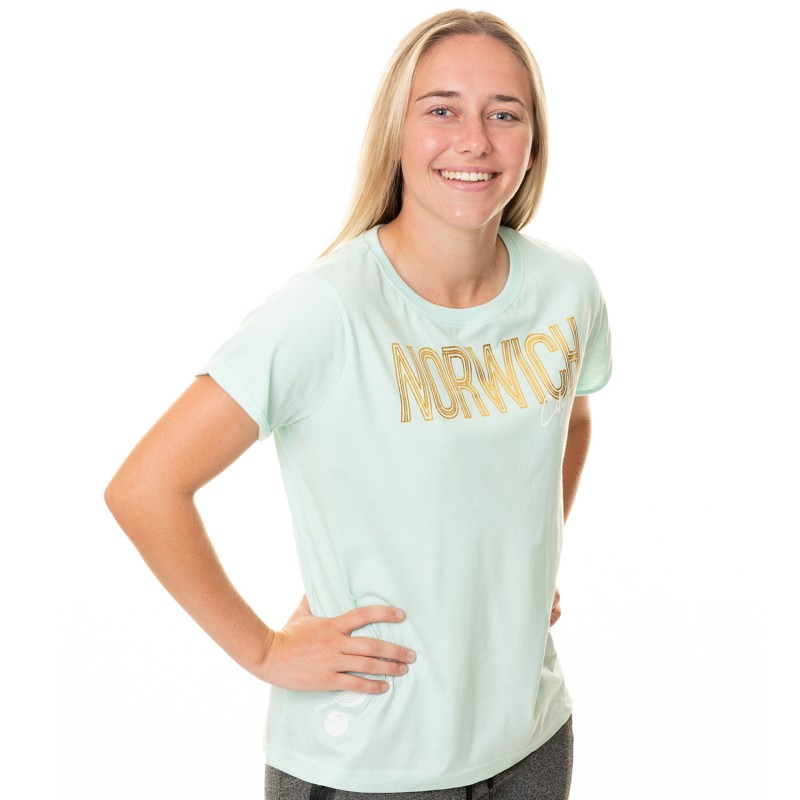 Ladies Mint Foil T-Shirt