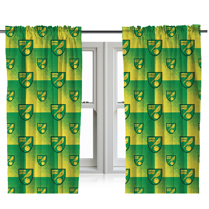 Crest Fade Curtains 72 Inches