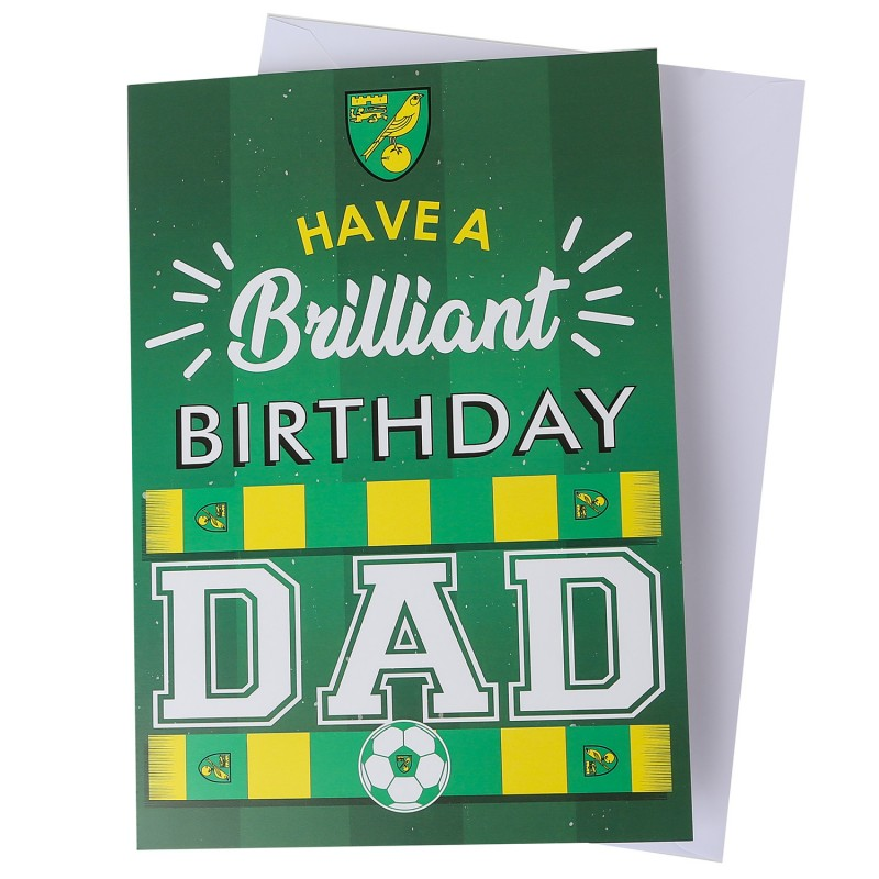 Brilliant Birthday Card - Dad