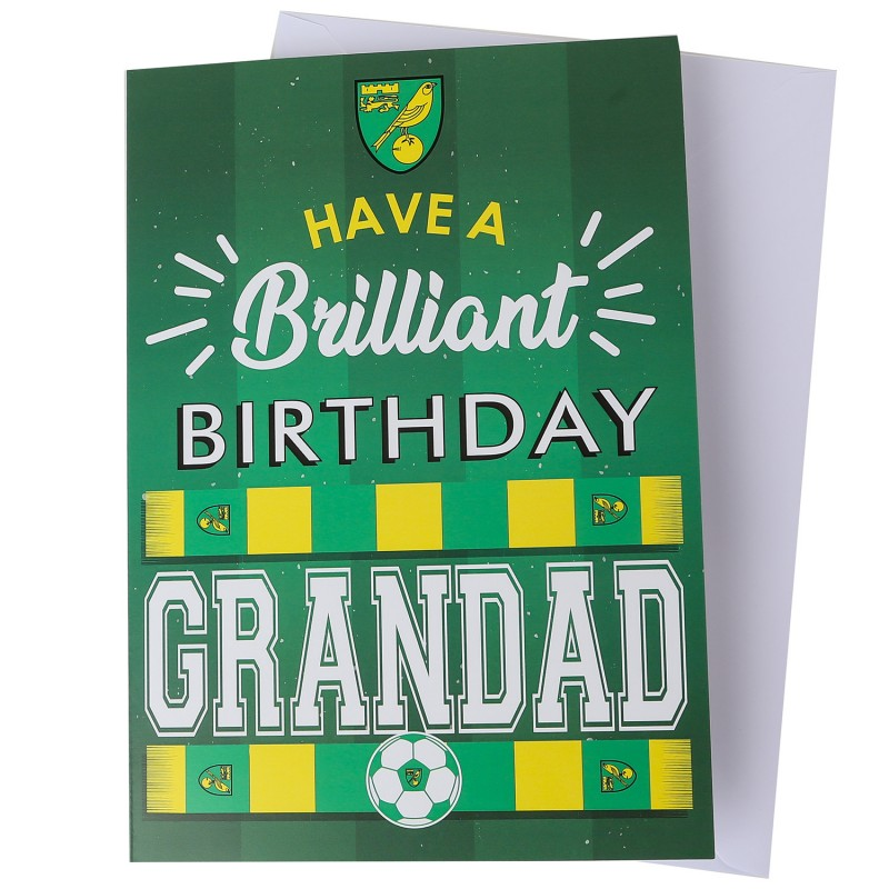 Brilliant Birthday Card - Grandad