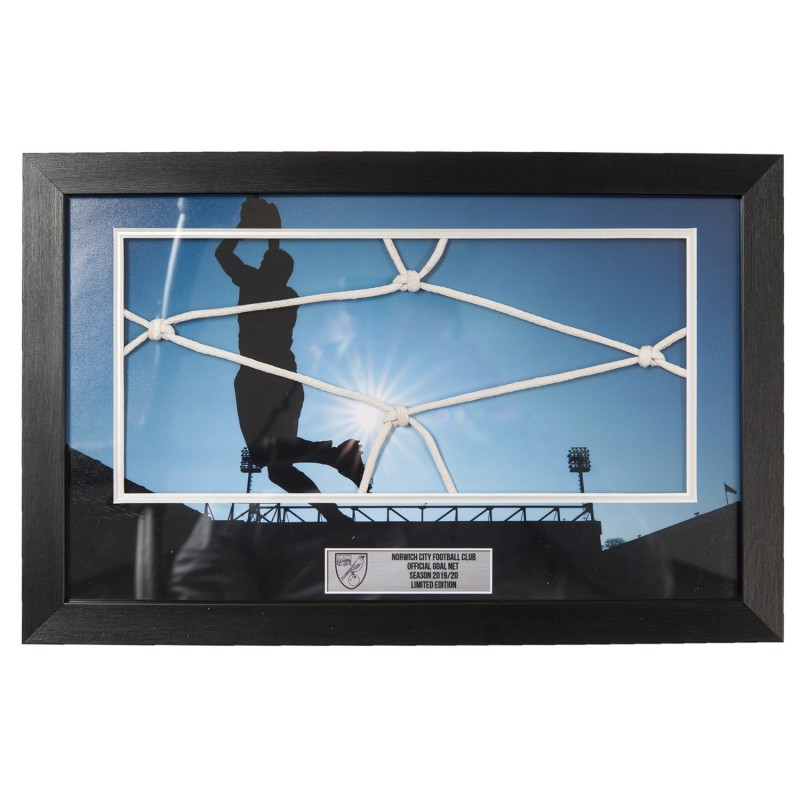 19/20 Framed Carrow Road Goal Net