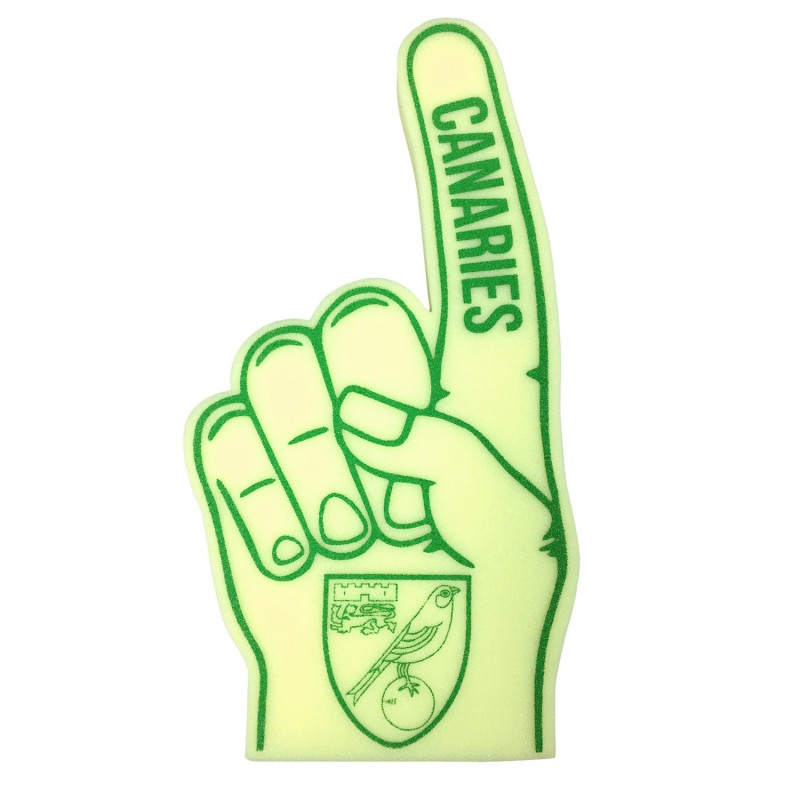 Canaries Foam Finger