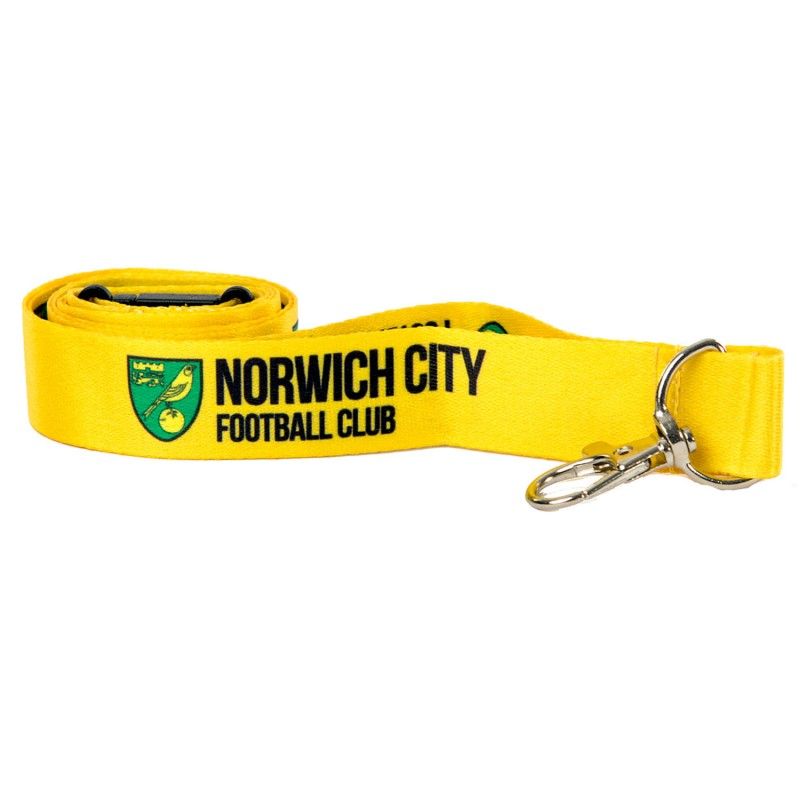 Yellow Crest Lanyard