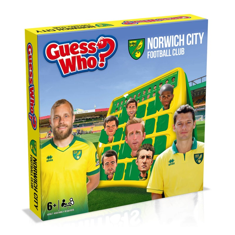 Norwich City FC Guess Who?