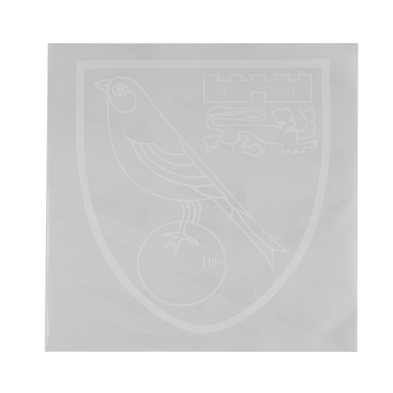 Large Outline Crest Car Sticker