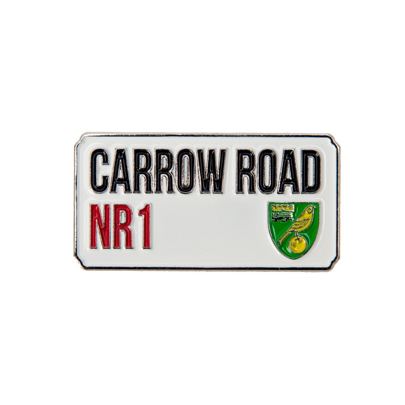 Carrow Road Pin Badge