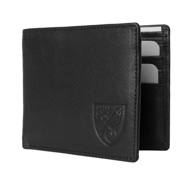 Real Leather Wallet - Black