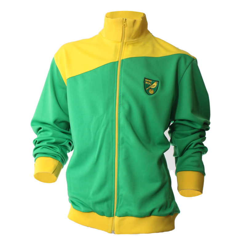 Athletic Track Top Yellow/Green