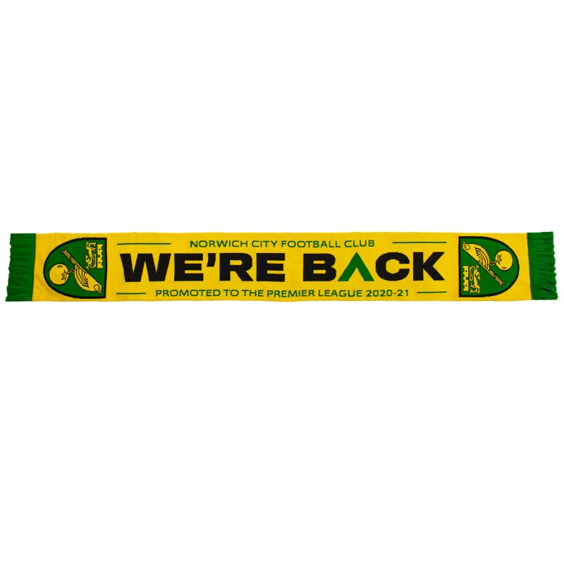 We Are Back Promotion Scarf