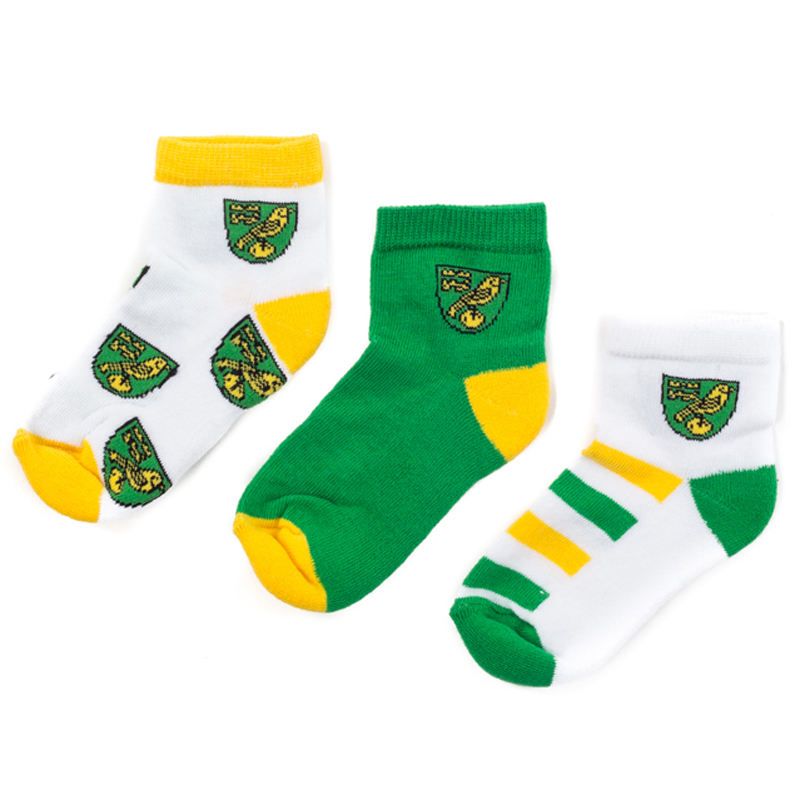 3-Pack Youth Sports Socks